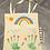 Thumbnail: Paint a fabric reusable shopping bag