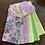 Thumbnail: Lavender heart rag wreath kit
