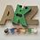 Thumbnail: Paint a letter craft kit