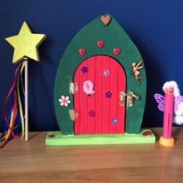 Painted fairy door kit