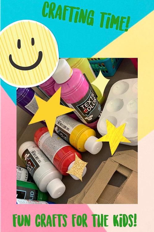 Rainy day Children's fun craft pack