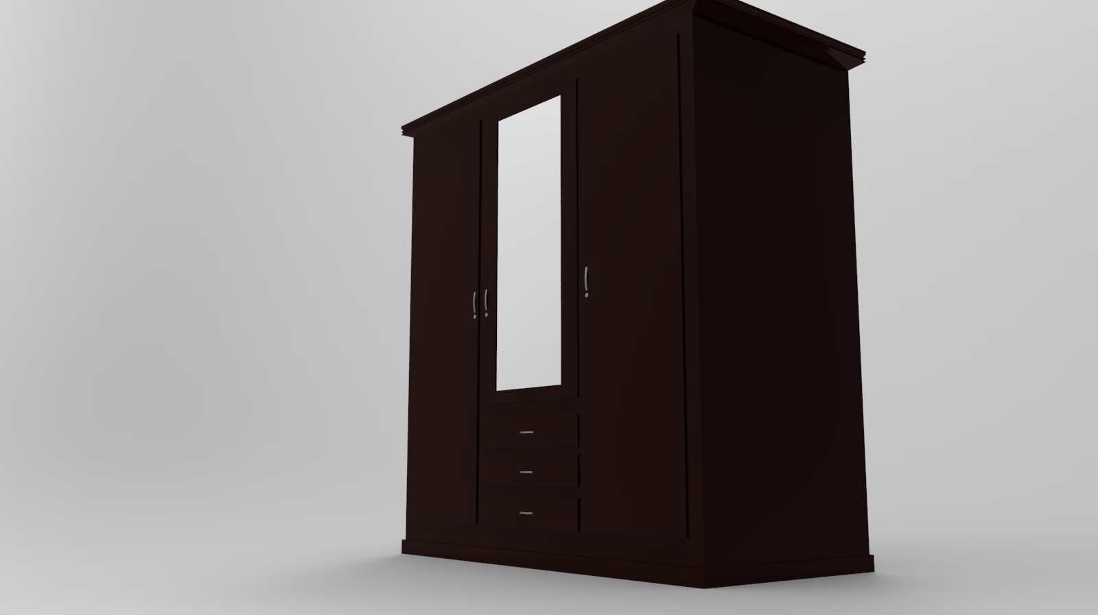 Almirah Cupboard | 3D Models |Kapera Designs|