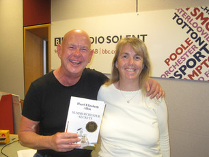 I had great fun being interviewed by Julian Clegg on BBC Radio Solent