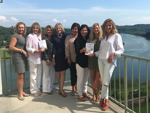 Diamond Book Club discuss Summerchester Secrets at their July meeting.