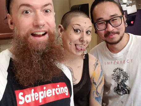 123 - Piercing in Southeast Asia with Huaii