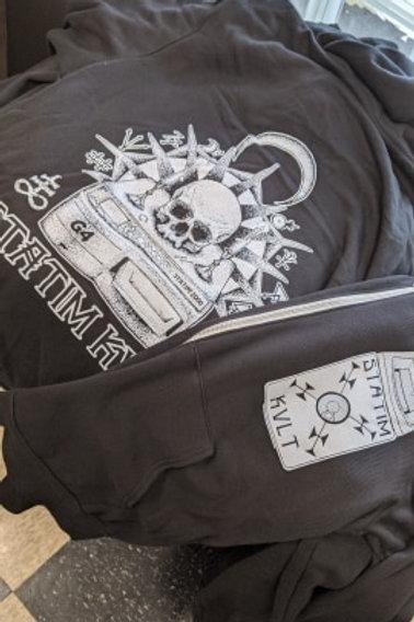 STATIM KVLT zip hoodie