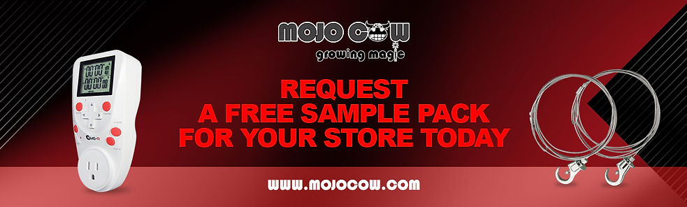 MOJO COW sample request banner