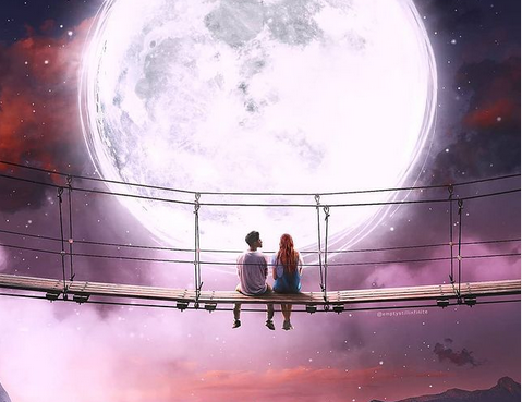 Se Réconcilier Avec Soi-Même Pour Laisser Entrer La Nouveauté, La Pleine Lune du 20 Octobre.