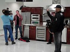 Bodyguard protecting Josh Temple of HGTV