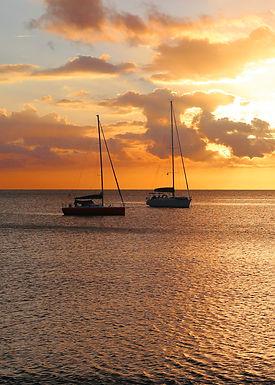 Golden boats