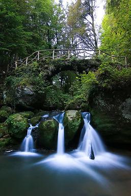 Enchanting waterfall