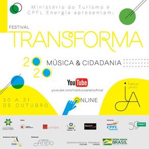 Instituto Anelo realiza seu primeiro festival: Transforma 2020 - Música & Cidadania