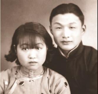 Tsu Hung e Maria, na época de seu casamento