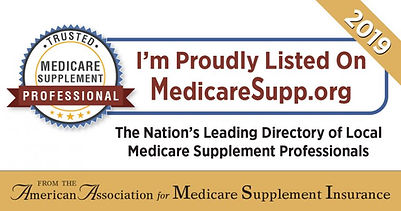 I'm proudly listed on MedicareSupp.org, Local Medicare Supplement Professionals