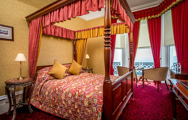 Overnight Stay for two Four Poster Sea View Room including Breakfast