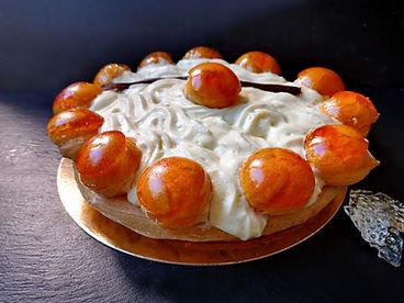 saint honoré entremets pâtisserie guignard arcachon