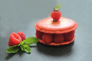 macaron framboise pâtisserie bassin arcachon pâtisserie guignard
