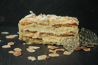 millefeuille vanille pâtisserie bassin arcachon pâtisserie guignard