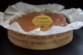 Fondant au Chocolat pâtisserie arcachon pâtisserie Guignard