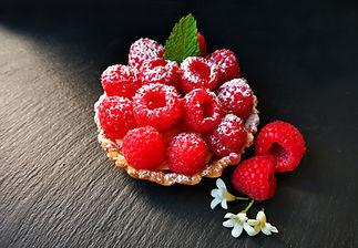tartelette framboises crème mousseline pâtisserie bassin arcachon pâtisserie guignard