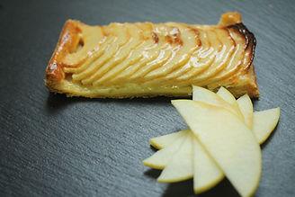 tartelette pommes pâte feuilletée pâtisserie bassin arcachon pâtisserie guignard