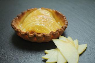 tartelette pommes pâte sablée pâtisserie bassin arcachon pâtisserie guignard