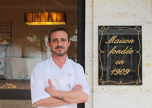 Matthieu Guignard pâtisserie arcachon pâtisserie Guignard