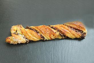 tresse au chocolat boulangerie arcachon pâtisserie guignard