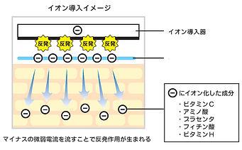イオン導入イメージ