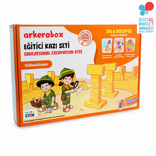 Arkerobox Göbeklitepe Eğitici Kazı Seti