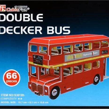 Double Decker Bus 3D Puzzle