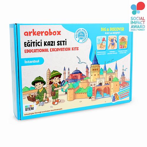 Arkerobox İstanbul Eğitici Kazı Seti