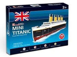 Mini Titanic 3D Puzzle