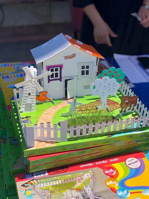 Çiftlik Evi 3D Puzzle