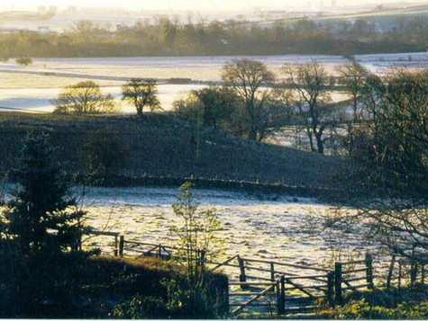Winter in Baldernock