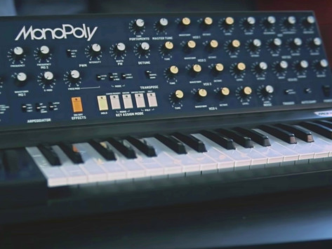 Behringer Announces Production of Highly Anticipated MonoPoly Synthesizer