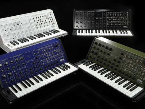Korg to Reissue Iconic MS-20 in Full Size, 4 Color Variations