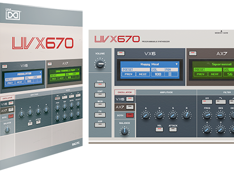 UVI Releases Plug-in Synthesizer Inspired by Both the Akai VX600, and AX73