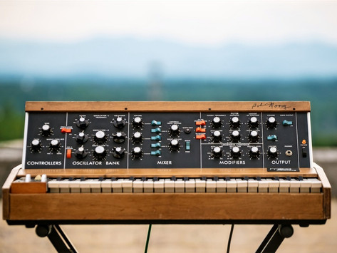 Win a Vintage Minimoog Model D Signed by the Late Dr. Robert Moog
