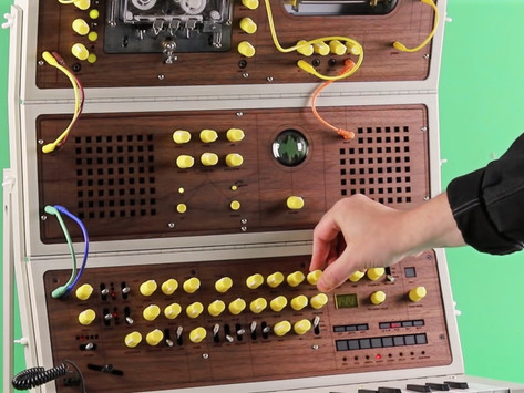 Meet Love Hultén's Handcrafted Foldable Modular Synthesizer: The MDLR-37