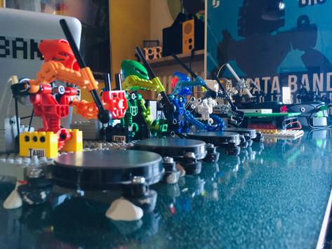 """Watch LEGO Robots Play a Cover of Kraftwerk's """"Tour De France"""""""