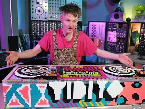 Watch: Man Builds Working Vinyl DJ Turntables from Lego Bricks