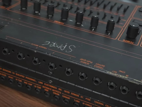 """Watch: Behringer to Restore """"LinnDrum"""" Drum Machine Used by Iconic Duo Tears For Fears"""