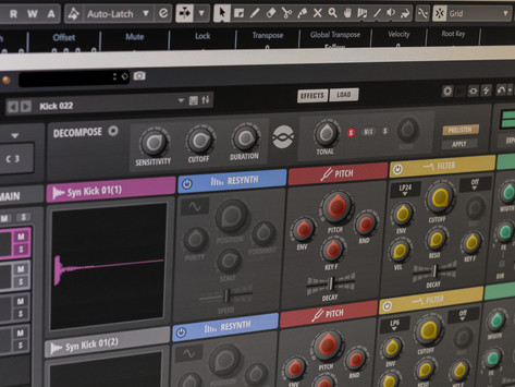 """Steinberg Introduces """"Backbone"""" Re-synthesizer Plug-in"""