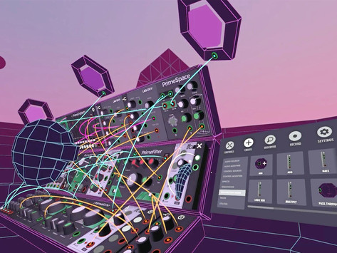 SynthVR: A Virtual Reality Modular Synthesizer Environment You Can Truly Immerse Yourself In