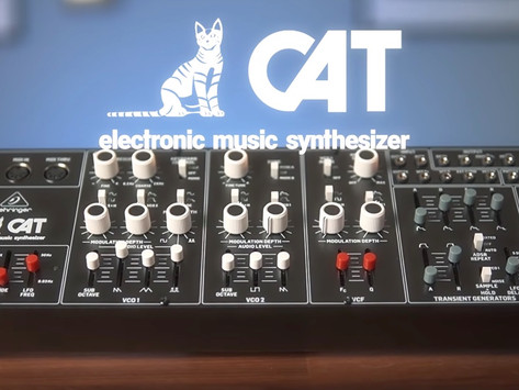 Behringer Finishes a Busy Year by Announcing CAT Synthesizer