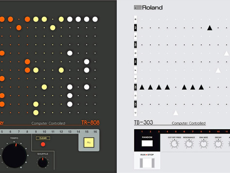 Roland Partners with Yuri Suzuki to Create Free Online Studio Featuring the TR-808 and TB-303
