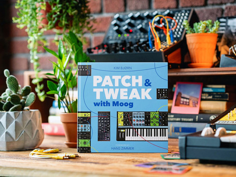 """Moog's New """"Patch & Tweak"""" Book is an In-depth Exploration into the World of Modular Synthesis"""