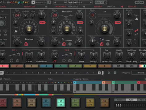 "Sugar Bytes Introduces ""DrumComputer"" for iPad"
