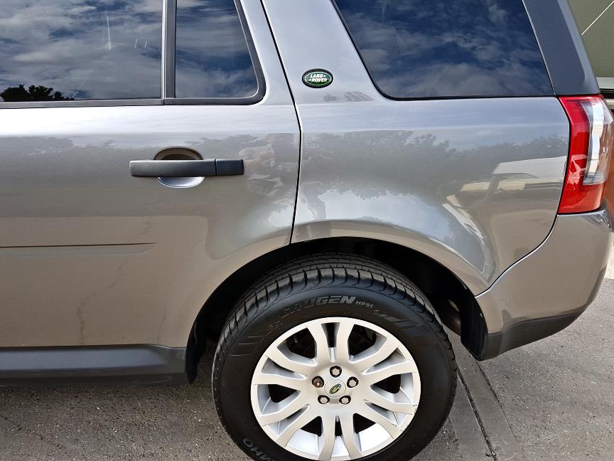 Freelander completed insurance repairs